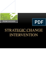Strategic Change Intervention