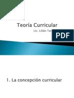 Teoría Curricular pp