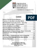 FoJMB Newsletter 2012 09