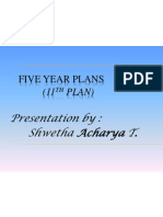 FIVE YEAR PLANS (11th Five Year Plan