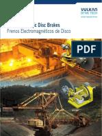 Electromagnetic Disc Brakes