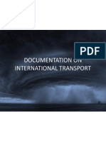 Documentation on International Transport