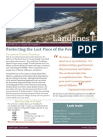 Summer 2012 Landlines Newsletter ~ Land Conservancy of San Luis Obispo County