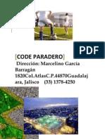 CODE Paradero