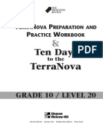 GLENCOE - Gr. 10 Test Prep Workbook