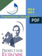 programación Célula europa 12-13