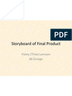 Storyboard of Final Product