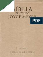 Biblia de Estudo Joyce Meyer - 01 Genesis