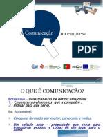 A  Comunicação     na empresa M1 CPV