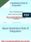Mws Gen Int Ppt Gaussquadrature (1)