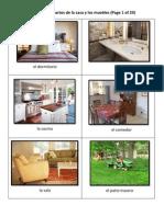 Preview Los Cuartos de La Casa y Los Muebles