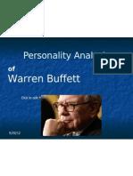 Personality (Warren Buffett)