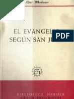 24245096 Wikenhauser Alfred El Evangelio Segun San Juan