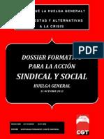 Dossier Huelga General 31 Octubre 2012