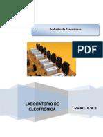 Práctica 3 Probador de transistores