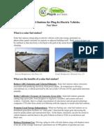 Solar Fuel Station