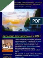 Un Consejo Interreligioso en La ONU