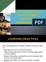 Chapter 8 Communication