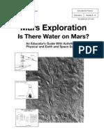 Mars Exploration Activities