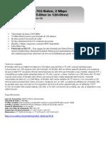 Características Balun g.703 Mod 460
