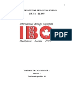IBO 2007 Theory Part 2