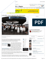 Barclays Center's Opening Is Met With Protests - NYTimes, 9/28/12