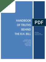 Handbook of Truths Behind the RH Bill 1st Edition Sept 23 2012 Revision