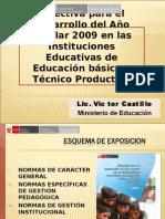 PresentaciónDREUGEL-Directiva2009