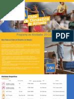 Programa de Actividades 2012/2013 - CGA