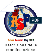 Arbus Summer Play 2012-Descrizione