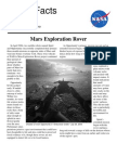 Mars Exploration Rover Facts