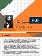 Brentano, fenomenología  y la Intencionalidad