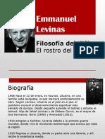 Emmanuel Levinas y la filosofía del diálogo