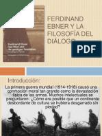 Ferdinand Ebner y la filosofía del diálogo