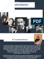 Jacques Maritain; El Neotomismo y antropologia personalista