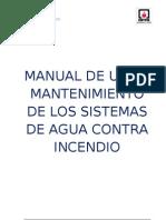 04. Manual de Uso de Los Sistemas de Agua Contra Incendio