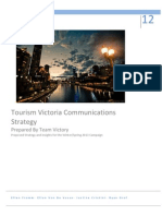 Tourism Victoria Strategy Planning