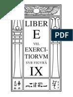 1 - Liber E - Vel Exercitiorum
