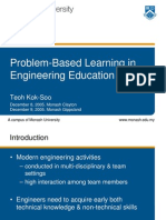 problem based learning in engineering