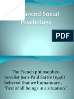 1.1 Advanced Social Psychology