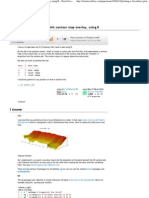 Plotting a 3d Surface Plot With Contour Map Overlay, Using R - Stack Overflow