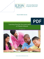 Learning from the Successes and Failuresof Charter Schools - Policy Brief - Roland Fryer