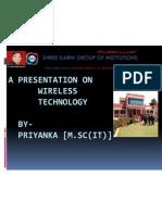 a presentation on priyanka