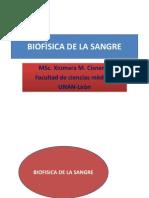 BIOFÌSICA DE LA SANGRE