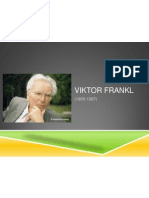Viktor Frankl, logoterapia y análisis existencial, psicología, filosofía