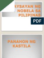 Kasaysayan Ng Nobela Sa Pilipinas