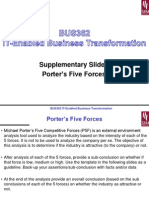Seminar Slides - BUS362 - S212 - Supplementary Slides - Porter's Five Forces