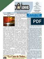 """2012-09-30 """"EL CONQUISTADOR"""" Boletín Semanal de La casa de Todos"""