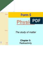 F5C5 Radioactivity