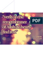 Remembrance of Allah Do Hearts Find Rest